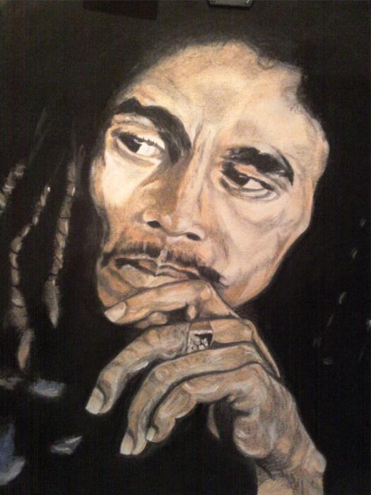 Bob Marley by domter